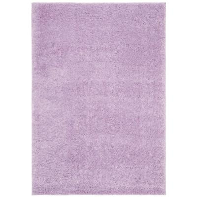 August Shag Lilac 8 ft. x 10 ft. Area Rug