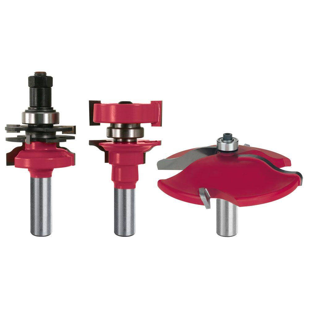 Door Router Bit Set (3-Piece)