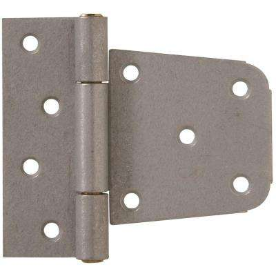 3-1/2 in. Heavy Duty T-Hinge in Galvanized for 2 x 4 or 4 x 4 Post Applications (5-Pack)