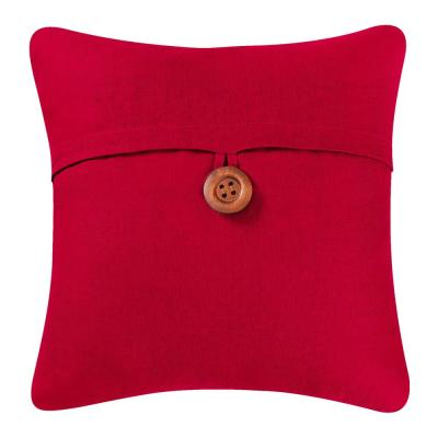 18 in. x 18 in. Red Envelope Pillow