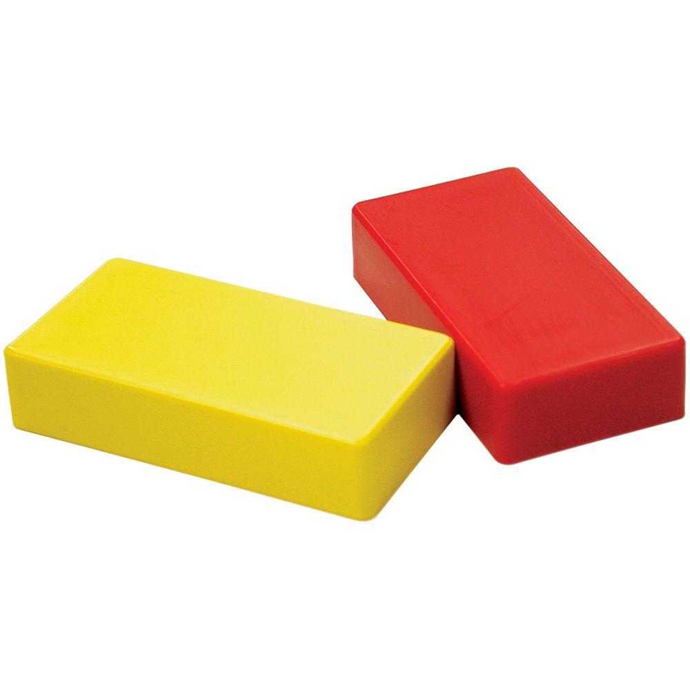 Red and Yellow Hold Everything Magnet (2-Pack)