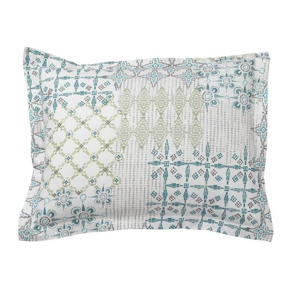 Cstudio Home by The Company Store Whistler Patch Organic Cotton Percale