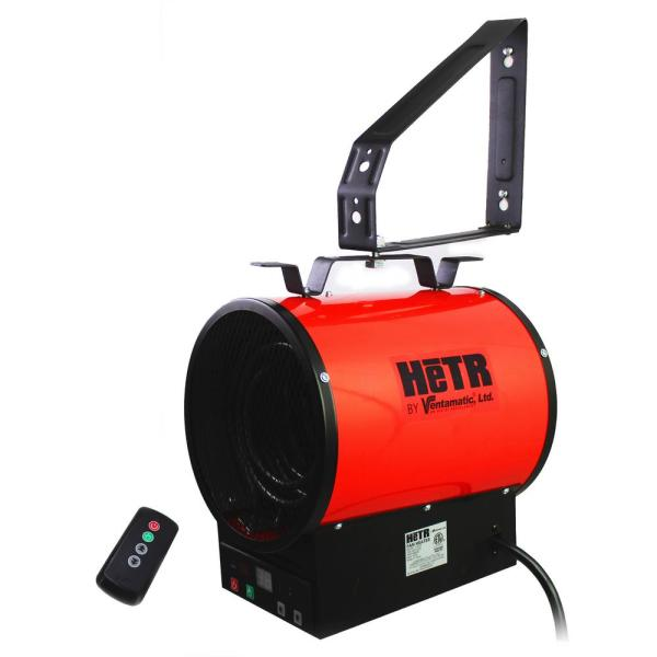 4800-Watt Electric forced Air Wall Mount Heater with Remote Control