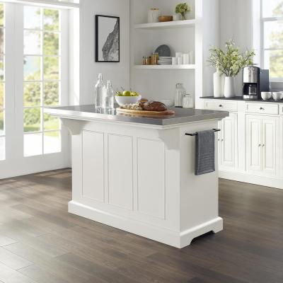 Julia White Kitchen Island