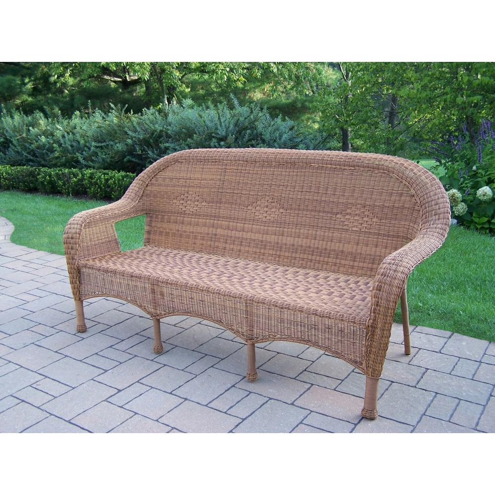 Fabulous Natural Wicker Outdoor Sofa Lamtechconsult Wood Chair Design Ideas Lamtechconsultcom