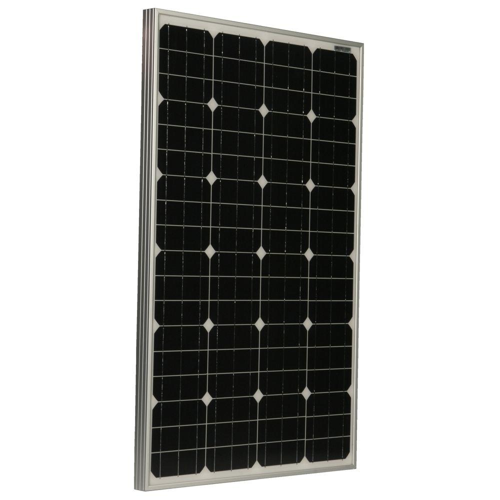 Grape Solar 105-Watt Monocrystalline PV Solar Panel for RV's, Boats and 12-Volt Systems-DISCONTINUED