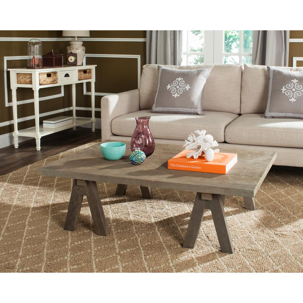 Safavieh Prairie Natural Coffee Table