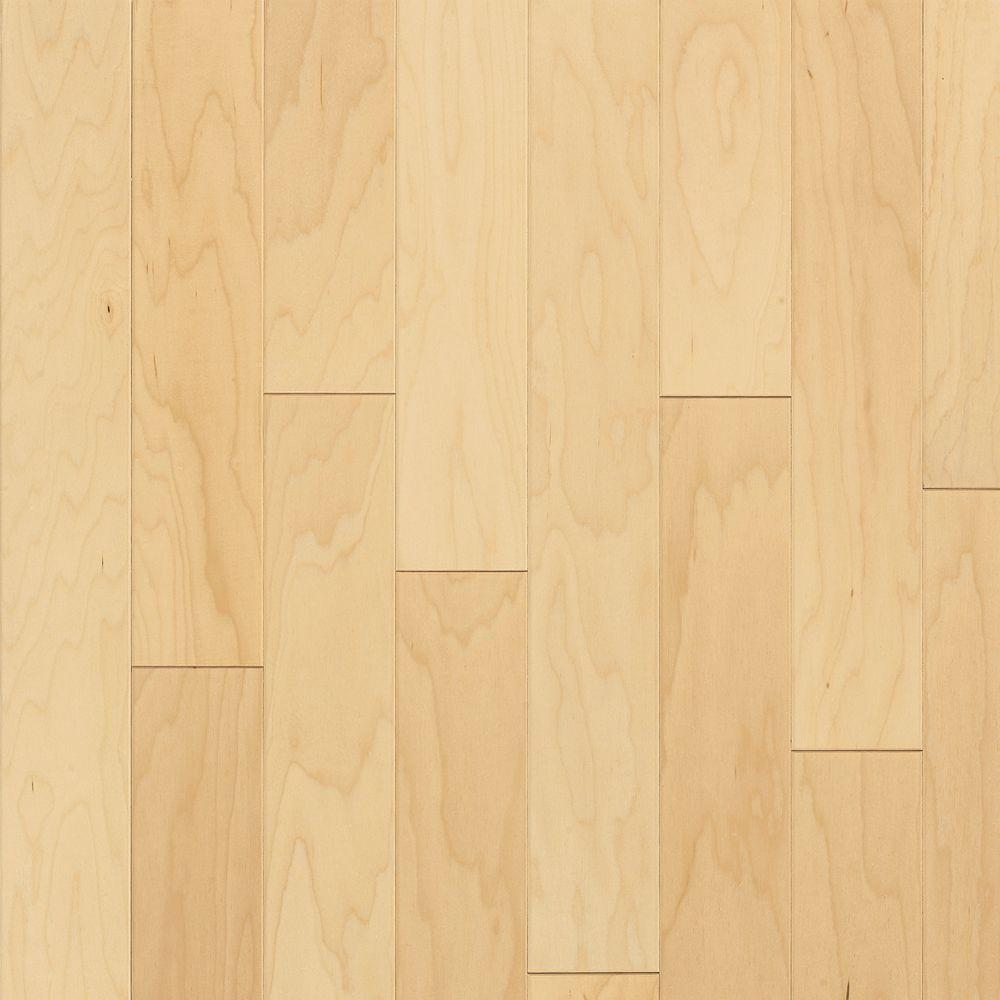 Bruce natural maple 3 8 in thick x 3 in wide x random for Bruce hardwood flooring