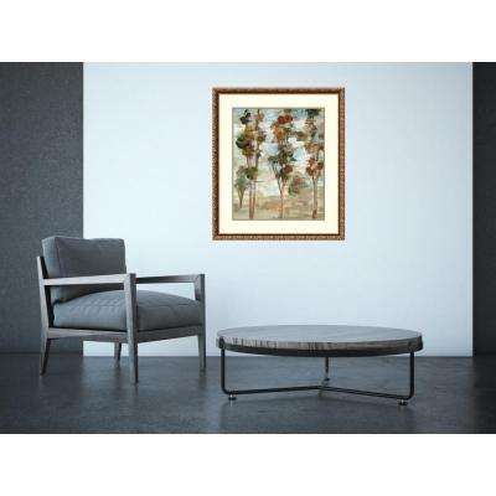 "26 in. W x 30 in. H ""Serene Forest III"" by Silvia Vassileva Framed Art Print"