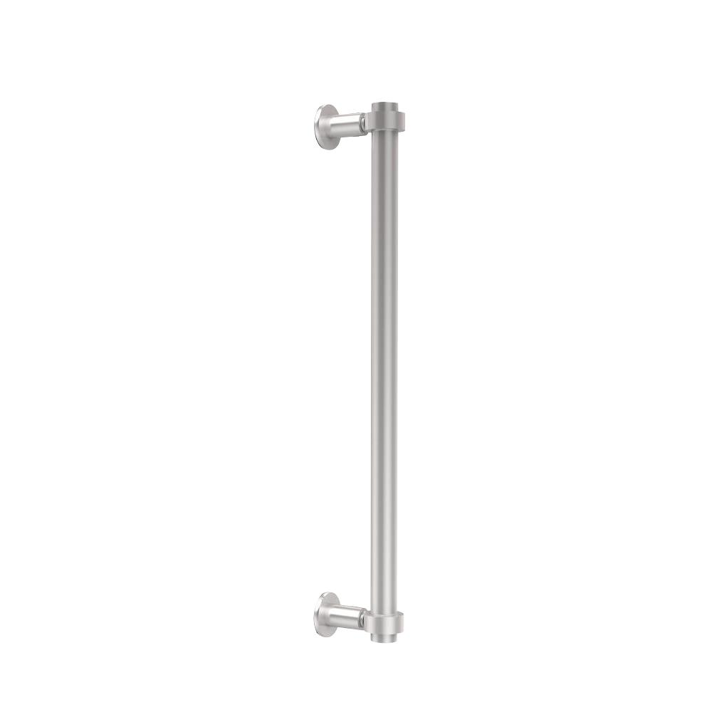 Contemporary 18 in. Back to Back Shower Door Pull in Satin