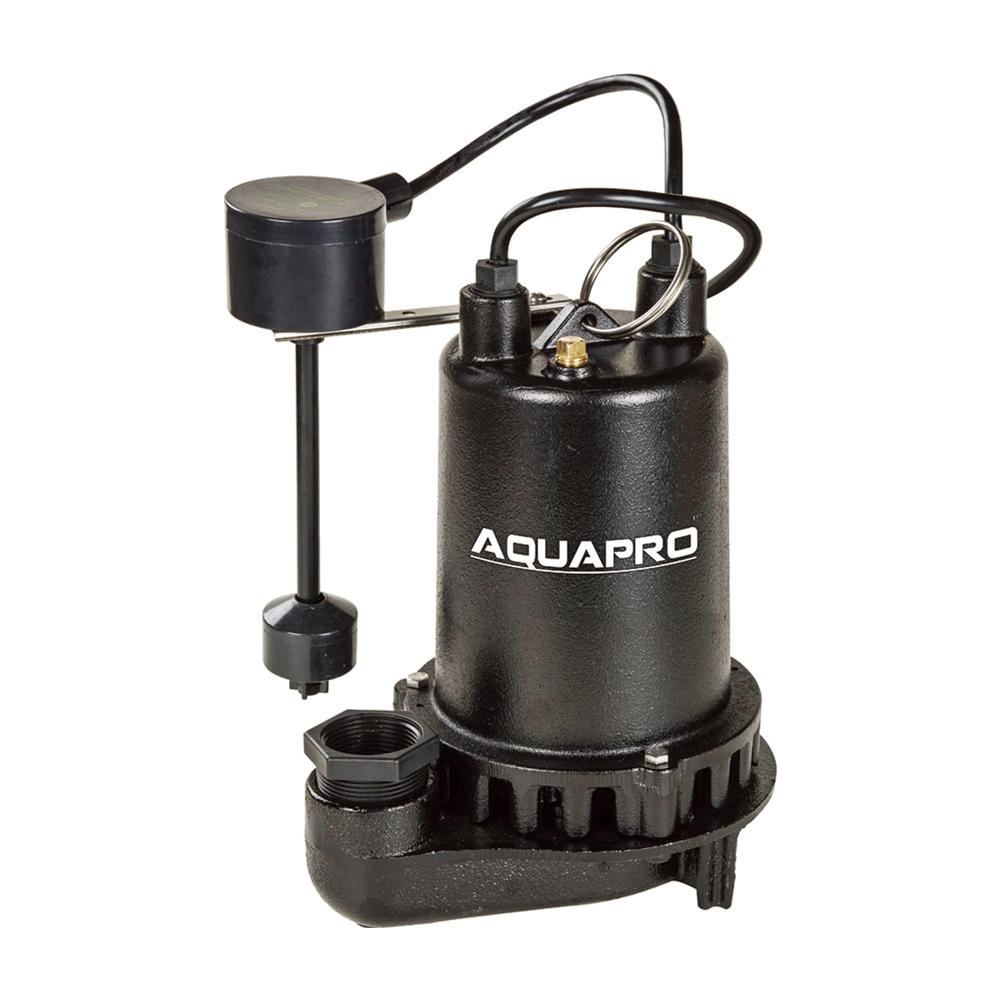 1/2 HP Submersible Sump Pump with Direct-in Vertical Float Switch