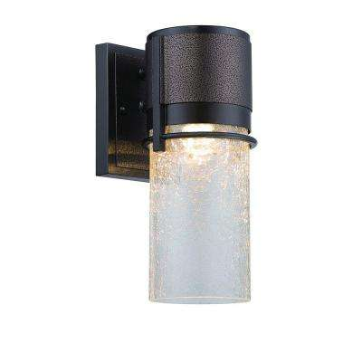 Baylor 5 in. Burnished and Flemish Bronze LED Wall Lantern