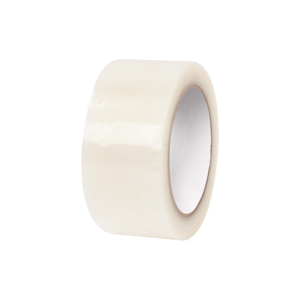 2 in. x 55 yds. Clear Premium Hot Melt Tape (6-Pack)