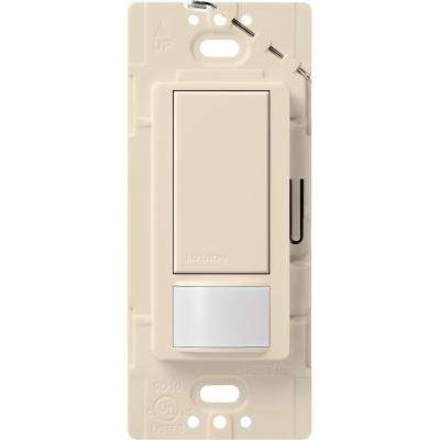Maestro 2 Amp Motion Sensor switch, , Single-Pole, Light Almond