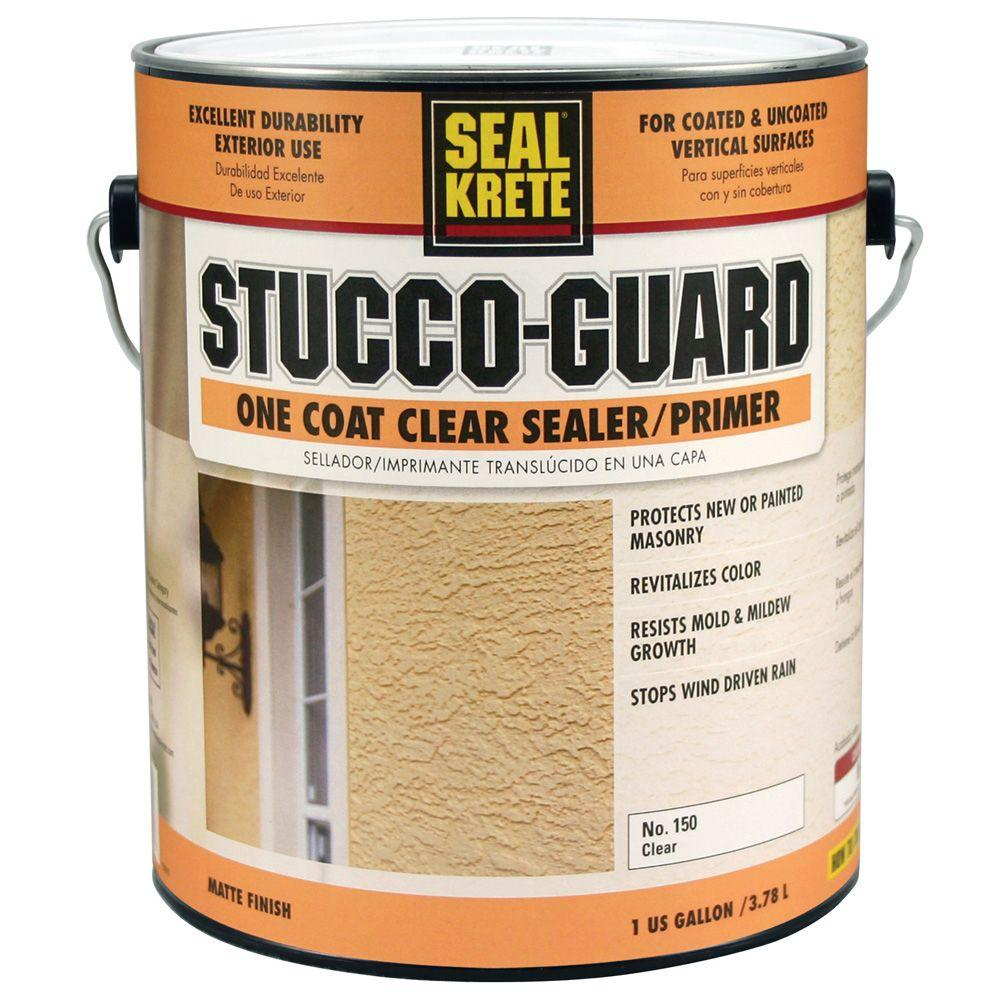 Seal-Krete Stucco-Guard 1-gal. Clear Sealer and Primer-DISCONTINUED