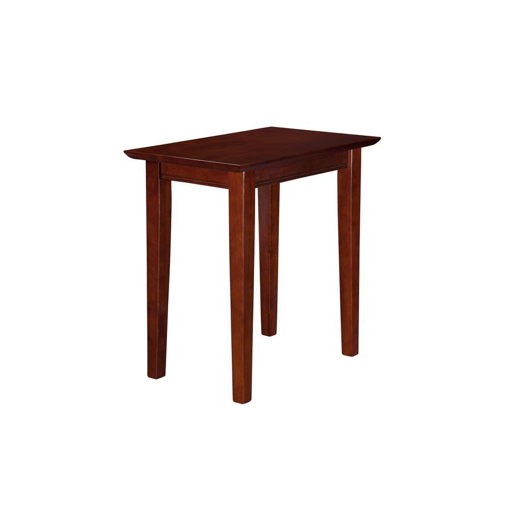 Shaker Walnut Chair Side Table