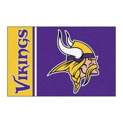 NFL - Minnesota Vikings Purple Uniform Inspired 2 ft. x 3 ft. Area Rug