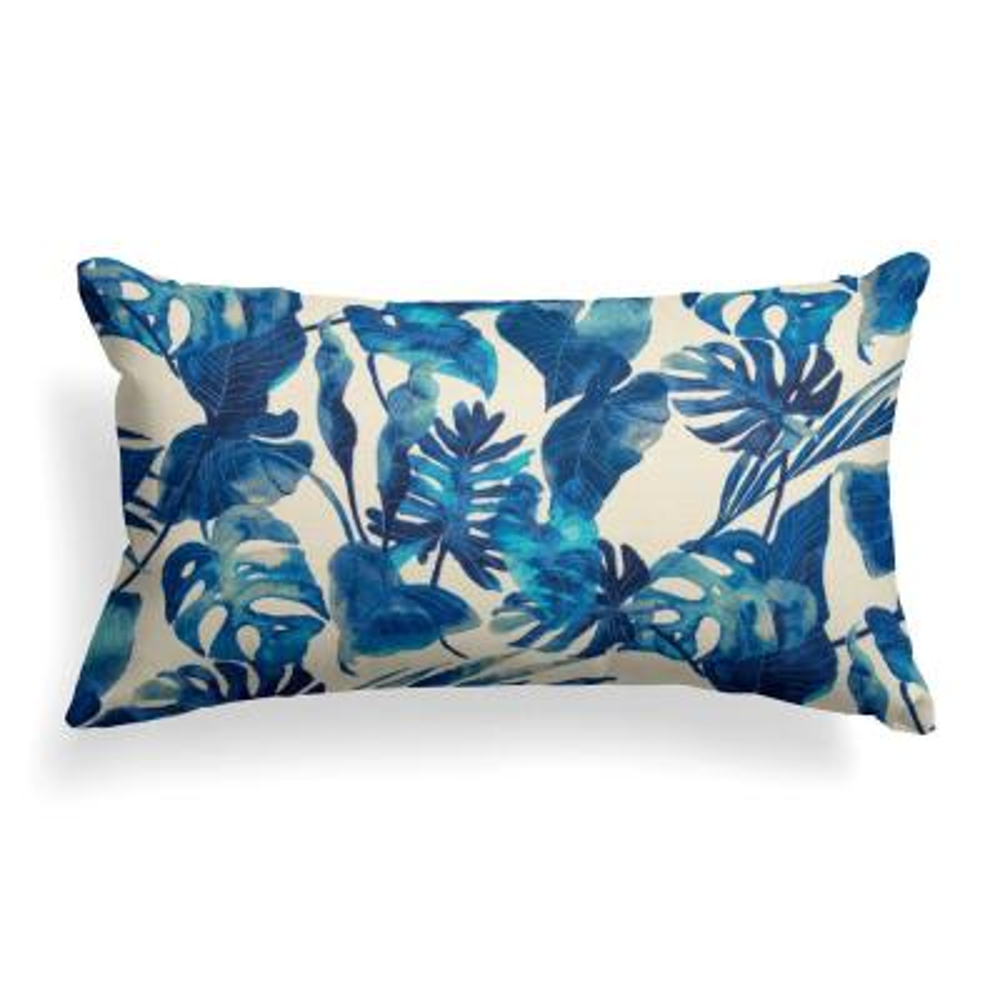 St. Thomas Rectangular Outdoor Lumbar Throw Pillow