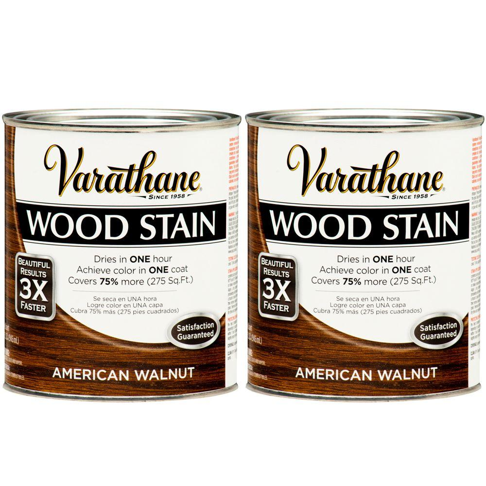 Varathane 1 Qt. American Walnut Wood Stain (2-Pack)-DISCONTINUED