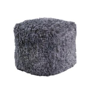 Sensational Silver Accent Pouf Pdpeps Interior Chair Design Pdpepsorg