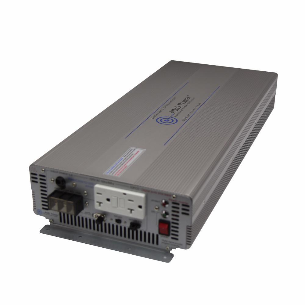 3,000-Watt Pure Sine Industrial Grade Inverter 12-Volt DC to 120-Volt AC