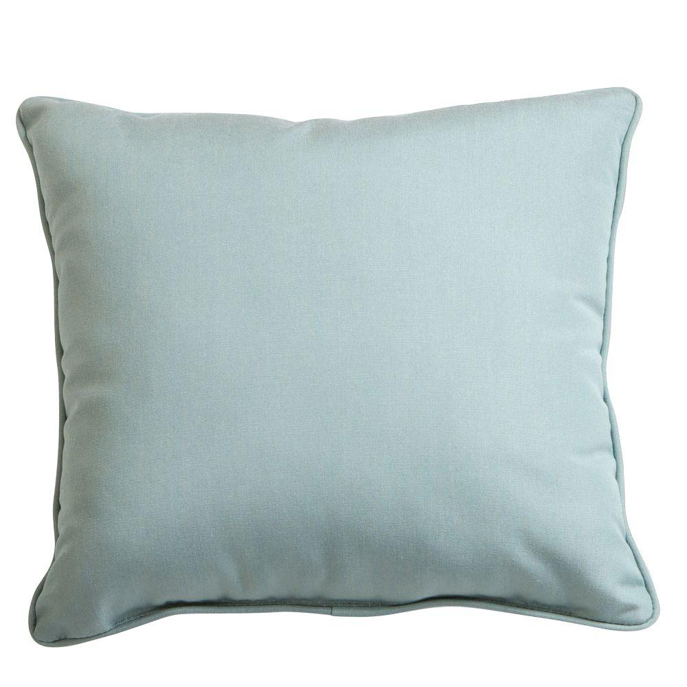RST Brands Spa 17 in. x 17 in. Outdoor Throw Pillow