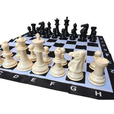 Garden Large 8 in. King Chess Set