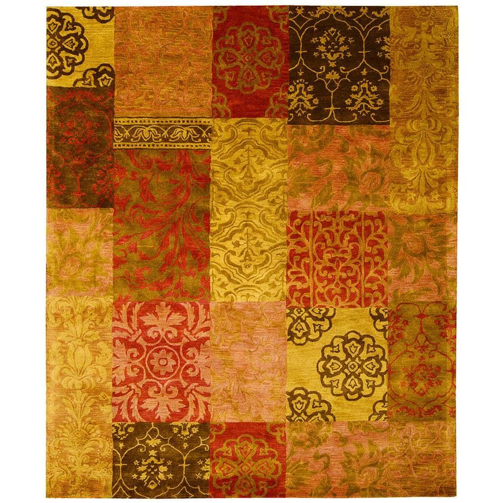 Nourison Jaipur Multicolor 7 ft. 9 in. x 9 ft. 9 in. Area Rug