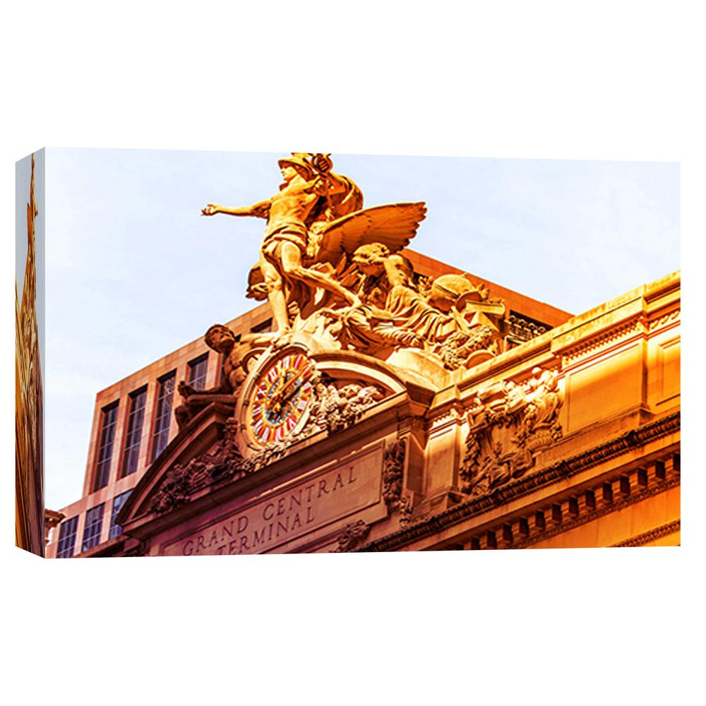 ptm images 10 in x 12 in grand central station printed canvas