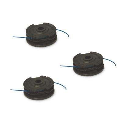 Dual-line Replacement Spool for 14 in. String Trimmer (3-Pack)