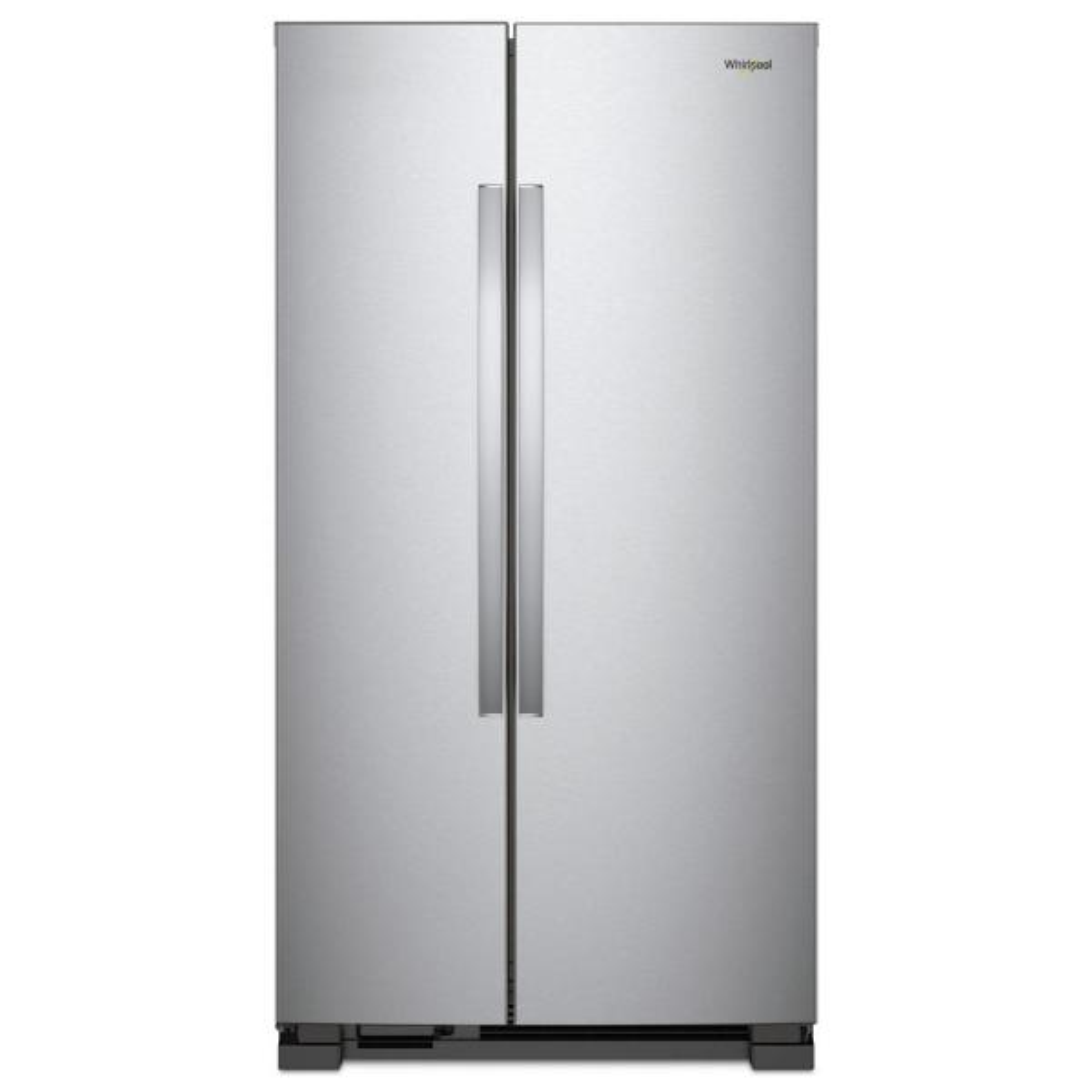 Whirlpool 25 cu. ft. Side by Side Refrigerator in Monochromatic Stainless Steel