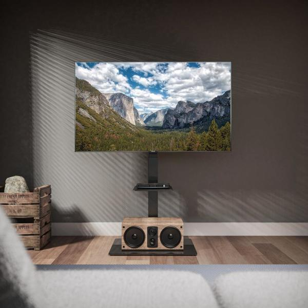 Adjustable Height Telescoping Tilt and Swivel TV Ceiling Mount ...