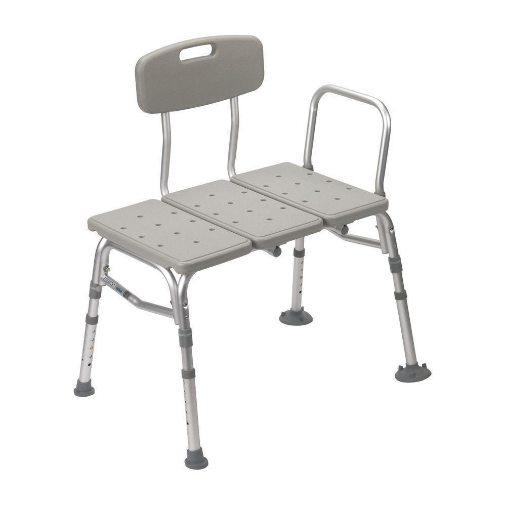 32 in. W x 23 in. D 3-Piece Transfer Shower Seat