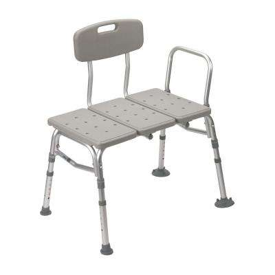 32 in. W x 23 in. D 3-Piece Transfer Shower Seat