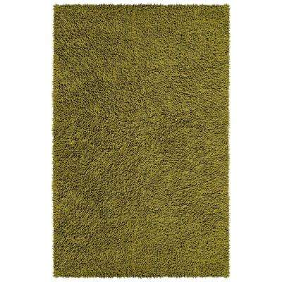 Moss Shag Chenille Twist  1 ft. 9 in. x 2 ft. 10 in. Accent Rug