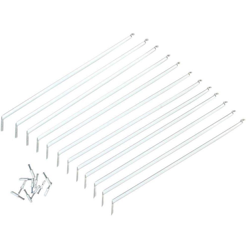 16 in. Shelving Support Bracket (12-Pack)