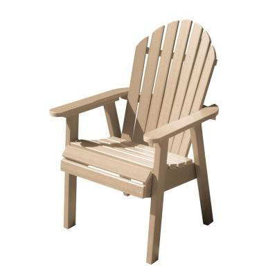 Hamilton Tuscan Taupe Recycled Plastic Outdoor Dining Chair