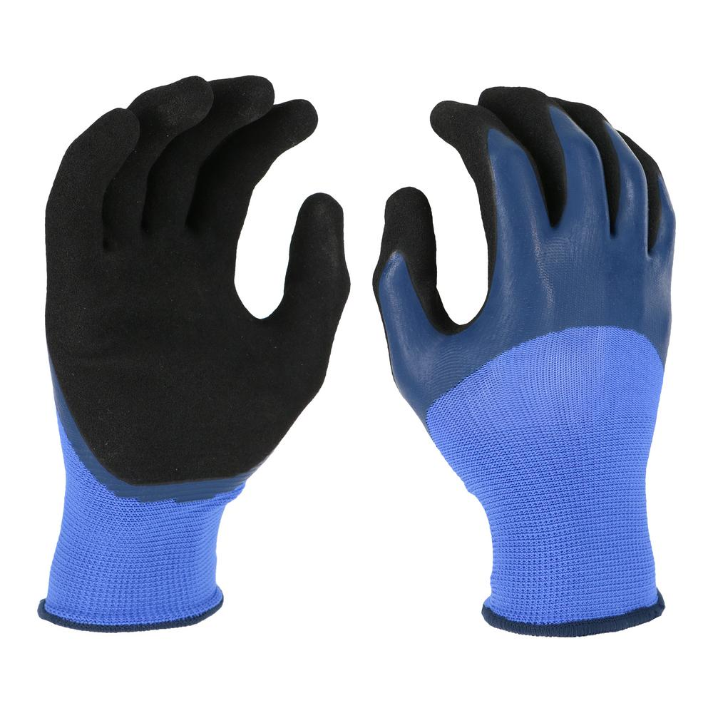 West Chester Protective Gear Women's Large Double Dipped Latex Glove