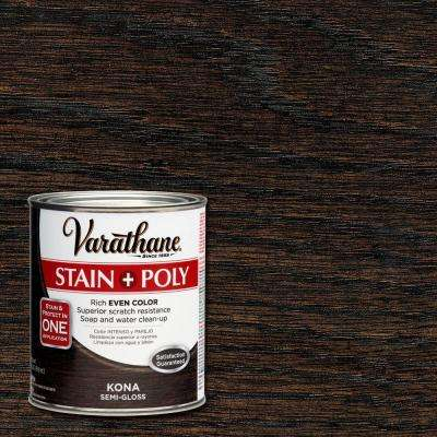 1-qt. Kona Stain and Polyurethane (Case of 2)