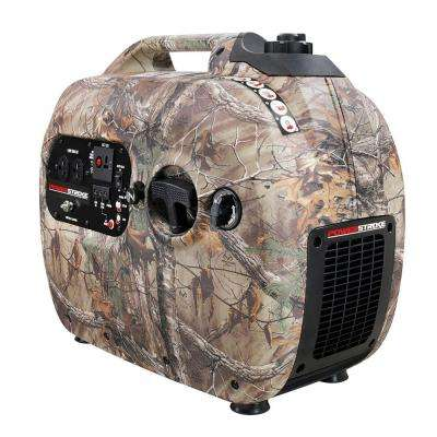 RealTree 2,100-Watt Gasoline Powered Digital Inverter Generator