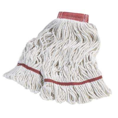 4-Ply Large Wide Band Cotton Mop (12-Pack)
