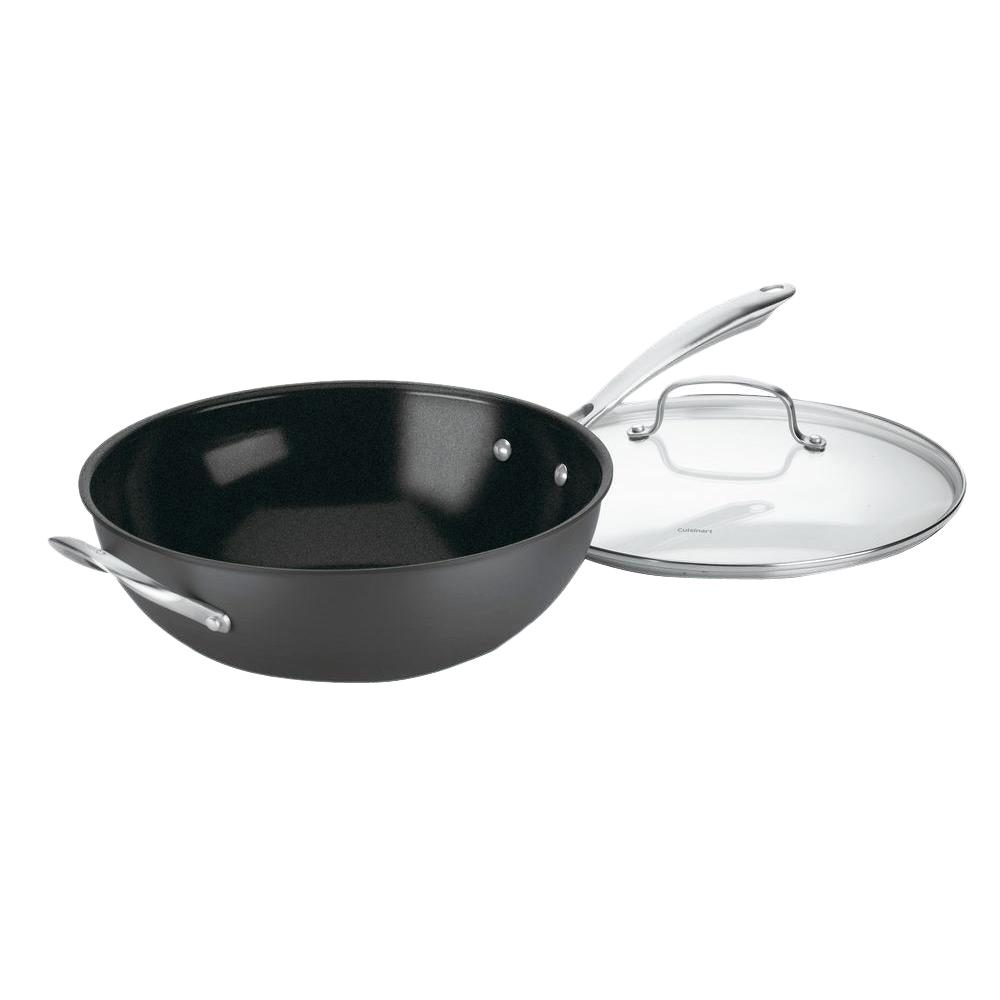 Cuisinart Greengourmet Hard Anodized Stir Fry Pan