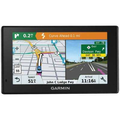 DriveSmart 51GPS Navigator with Lifetime Maps of North America and Live Traffic