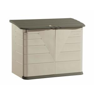 Rubbermaid 2 ft. 7 inch x 5 ft. Horizontal Resin Storage Shed by Rubbermaid