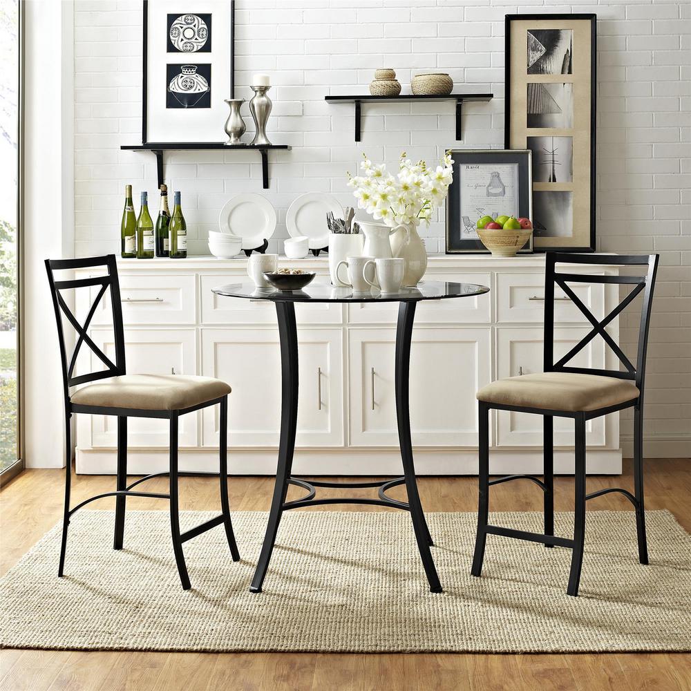 Glass - Dining Room Sets - Kitchen & Dining Room Furniture ...