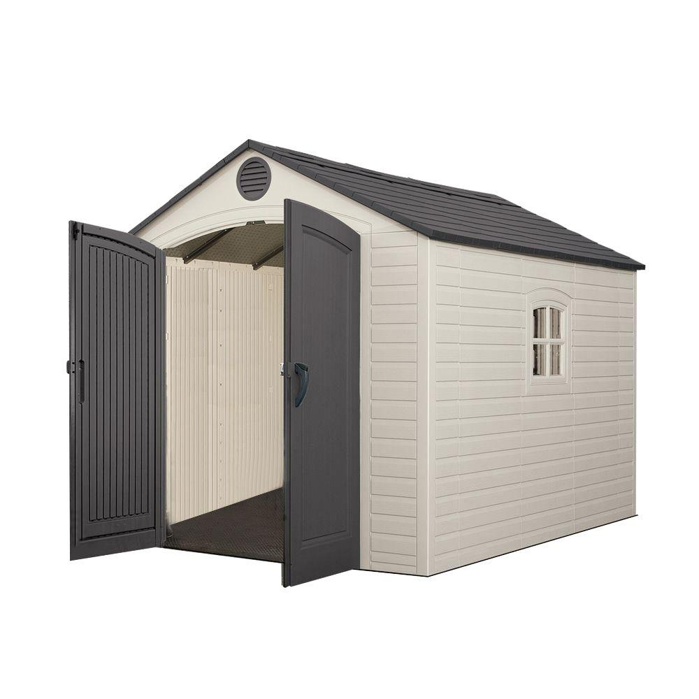 Storage Plastic Shed 60115   The Home Depot