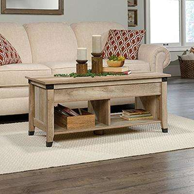 Carson Forge Lintel Oak Lift-Top Coffee Table