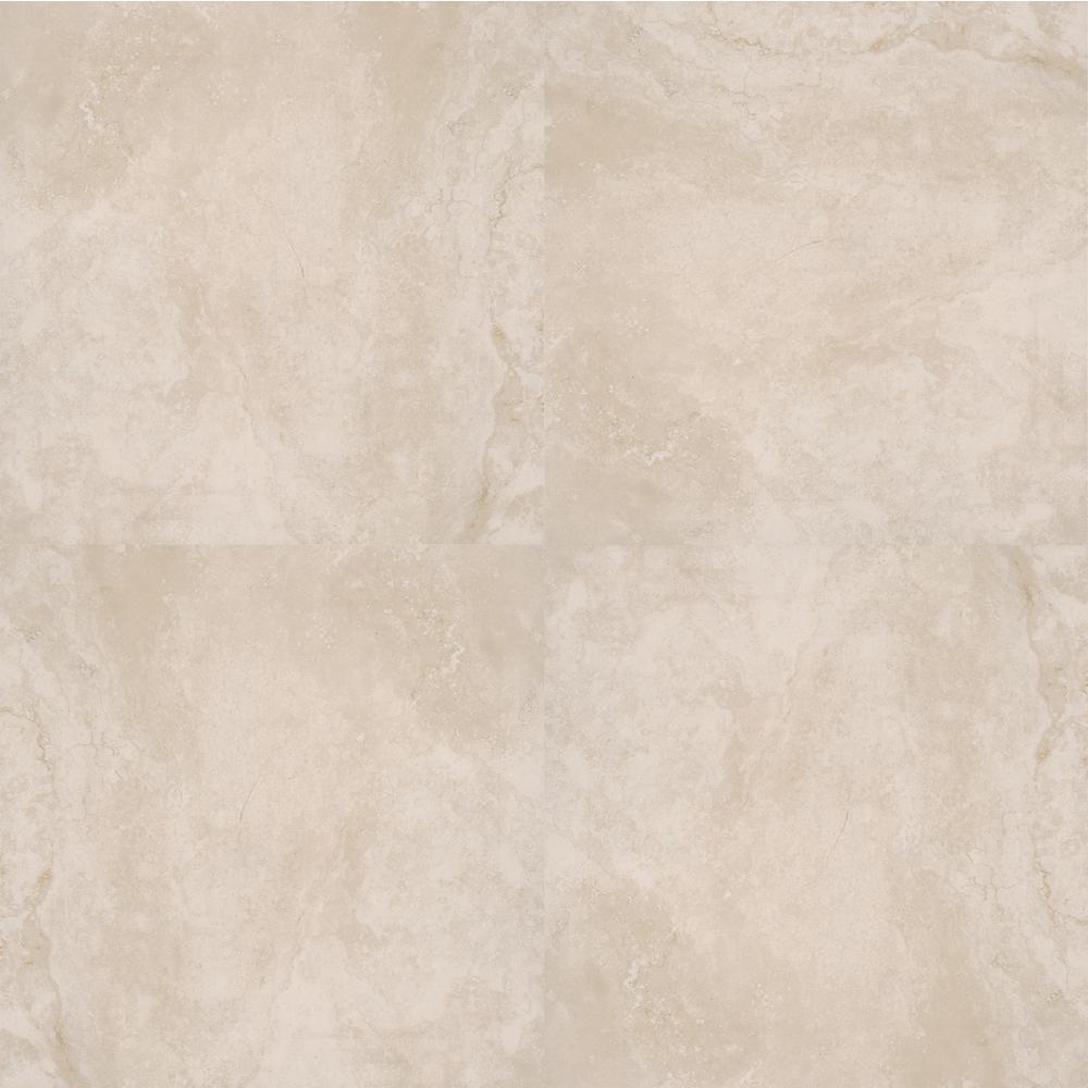 Isabela Ivory 24 in. x 24 in. Matte Porcelain Paver Tile (14 pieces / 56 sq. ft. / pallet)