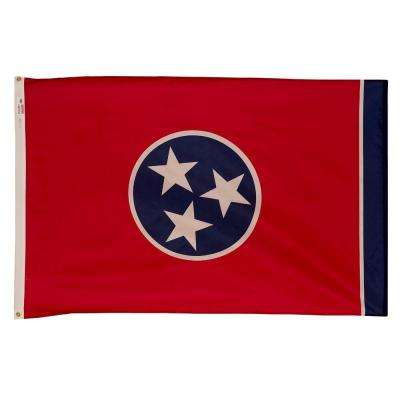 3 ft. x 5 ft. Nylon Tennessee State Flag