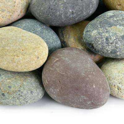20 lbs. of Mixed 1/2 in. to 1 in. Mexican Beach Pebbles